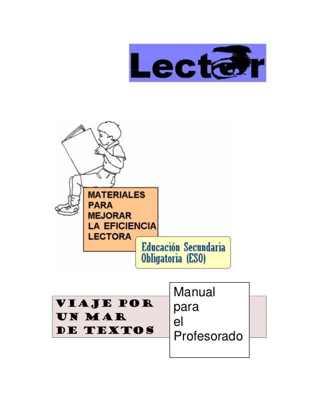 24 materiales para mejorar la eficiencia lectora en la eso (manual para el profesorado) (1)