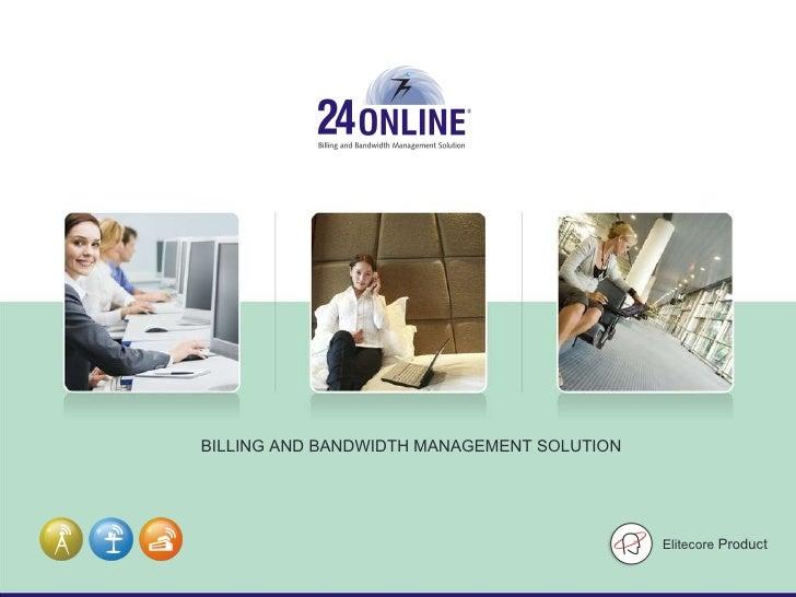 24online-Internet billing & bandwidth management solution