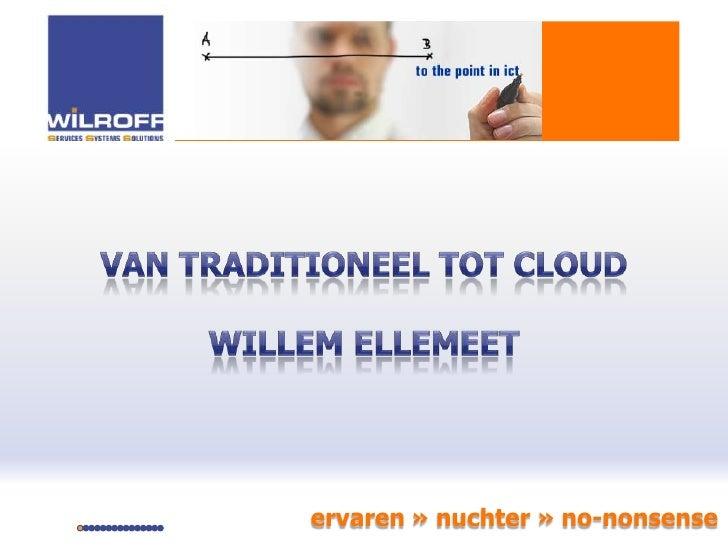 24 sept presentatie kpn   wilroff to the point in ict (final)