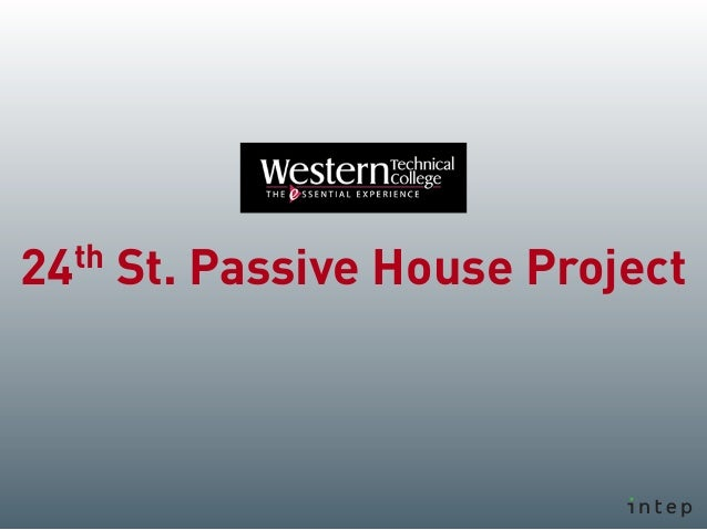 th24 St. Passive House Project