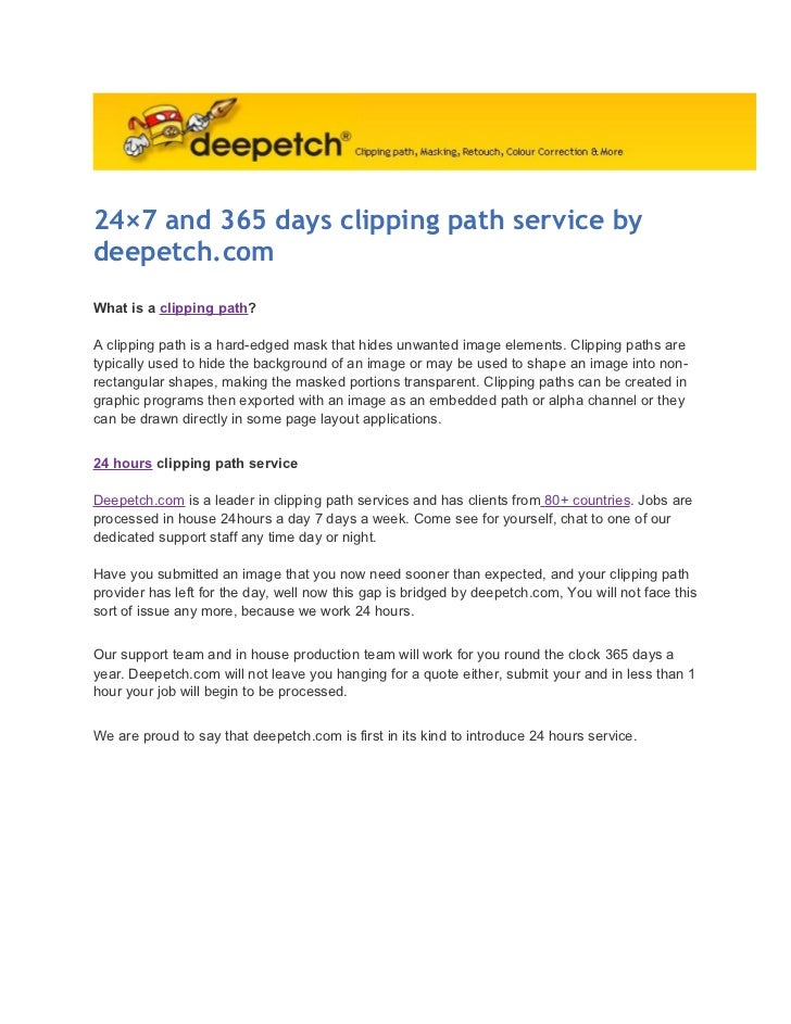 24x7 and-365-days-clipping-path-service-by-deepetch-com
