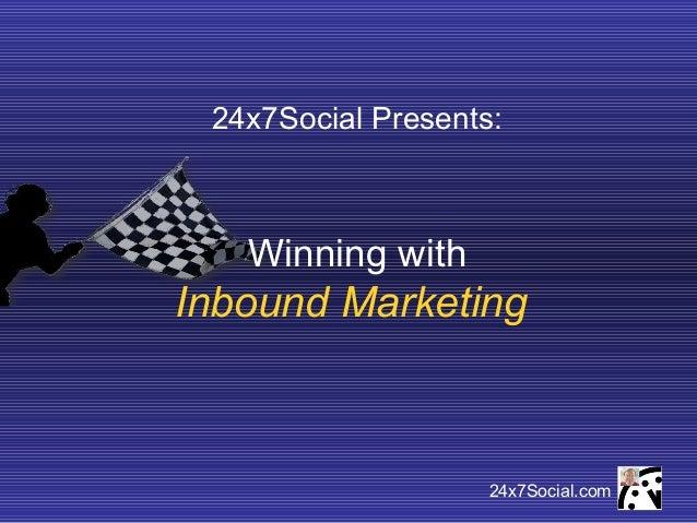 24x7Social Inbound Marketing Services