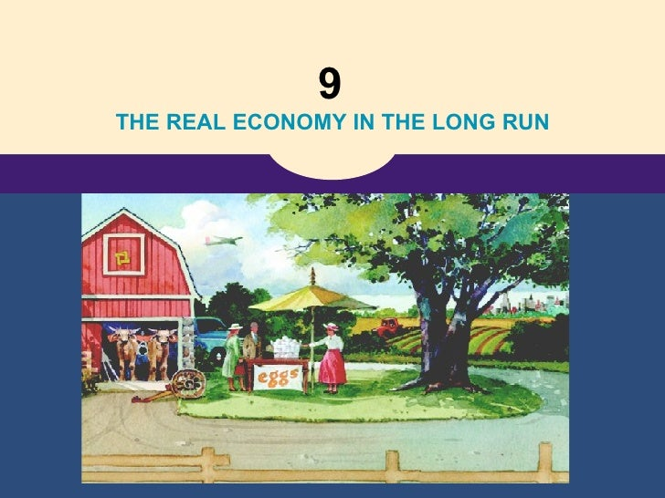 9   THE REAL ECONOMY IN THE LONG RUN