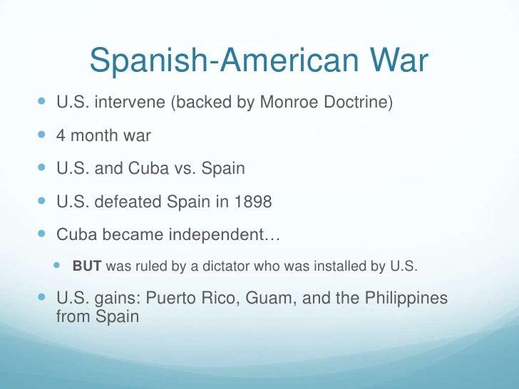 War Chart Spanish American War Spanish-american Waru.s
