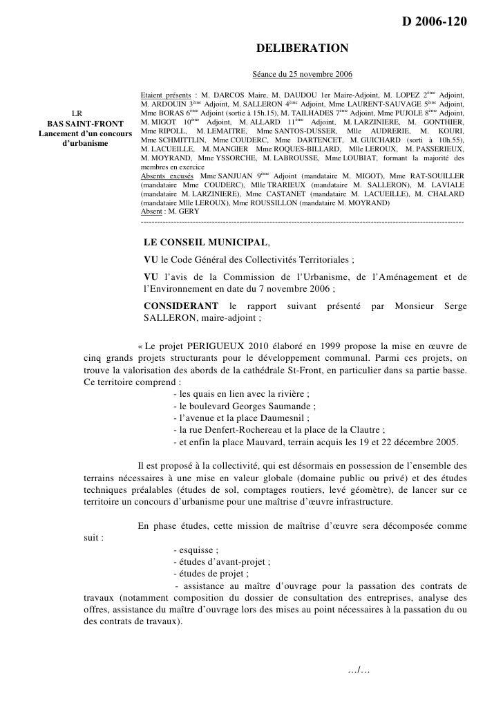 D 2006-120                                                                     DELIBERATION                               ...