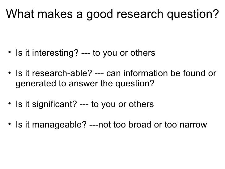a good research-essay question 25 great essay topics for students be sure to explain why you think it is a good idea or a bad idea include examples to support your reasons.