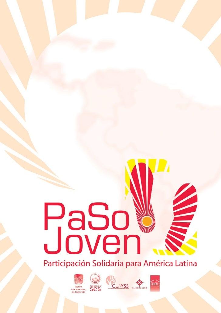 MANUAL INTEGRAL PARA LA                  PARTICIPACIÓN SOLIDARIA                       DE LOS JÓVENES                     ...