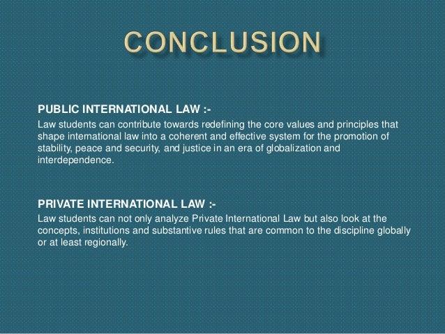 private law versus public law