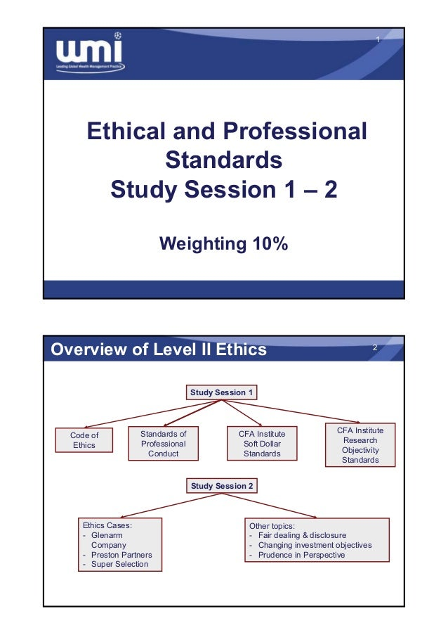 cfa code of ethics pdf