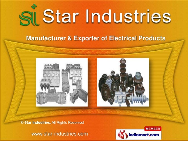 Manufacturer & Exporter of Electrical Products