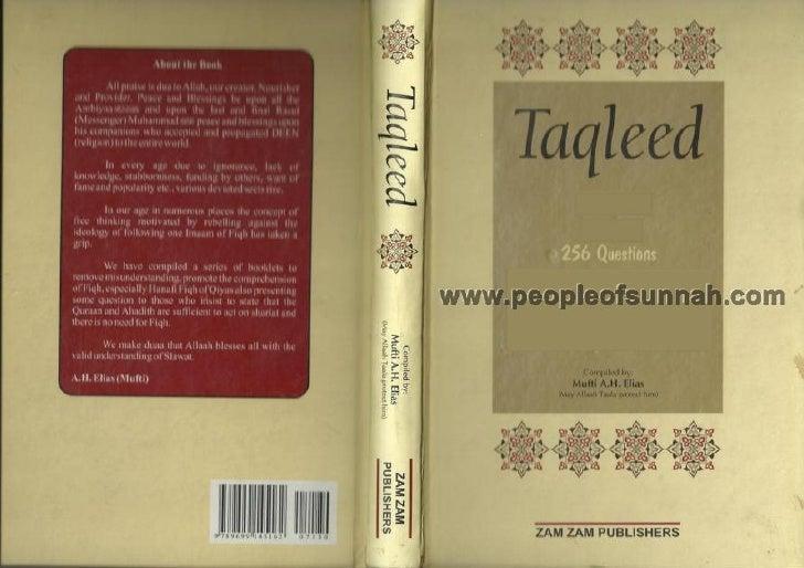 Taqleed