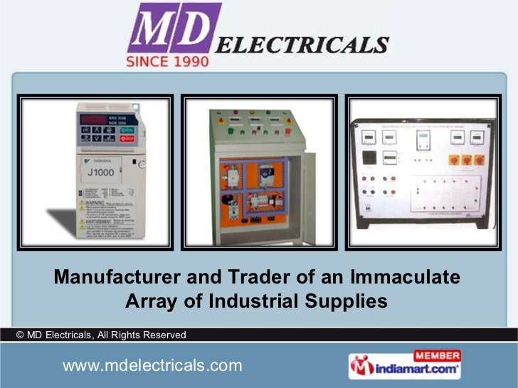 Manufacturer and Trader of an Immaculate Array of Industrial Supplies