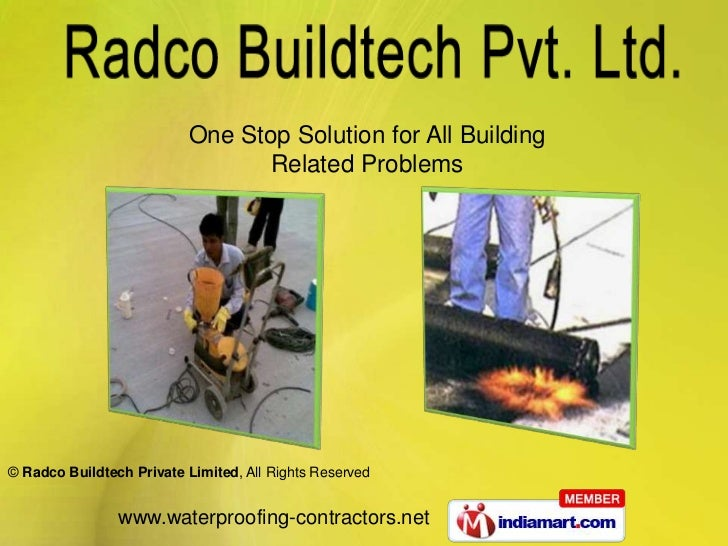 One Stop Solution for All Building                                 Related Problems© Radco Buildtech Private Limited, All ...