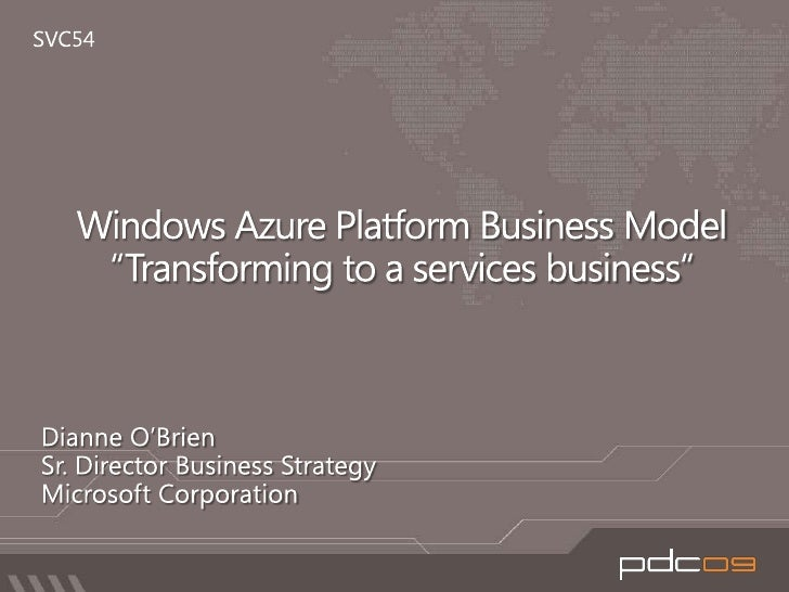 Windows Azure Platform Business Model: Know about Windows Azure Platform pricing and SLAs