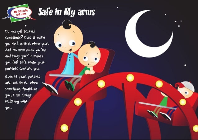 My little talks with Jesus: Safe in my arms