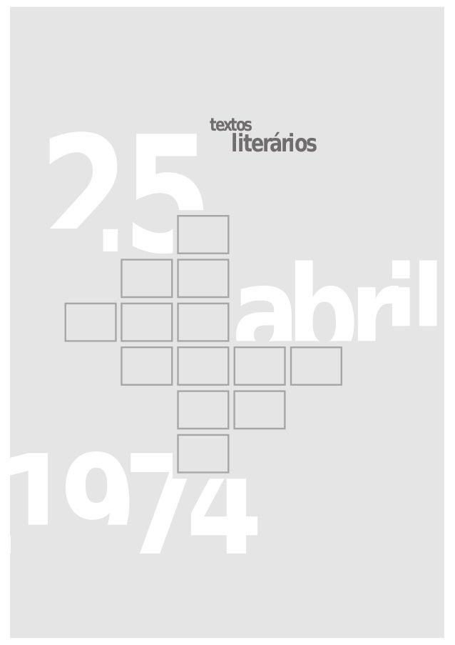 1974 25 abril textos literários
