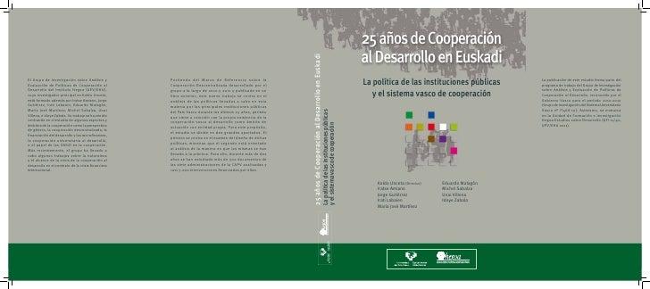 25 años de cooperación al desarrollo en Euskadi