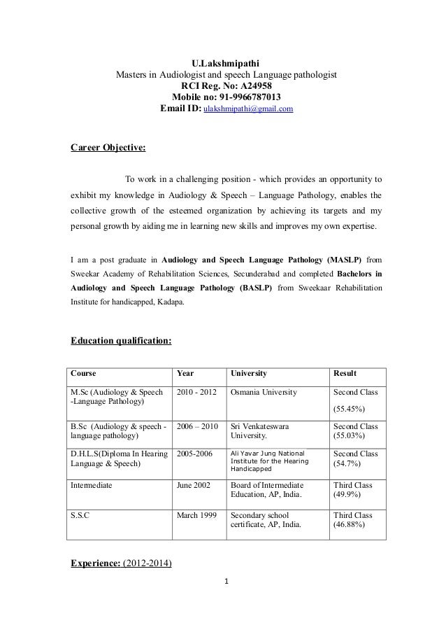 Dissertation speech therapy