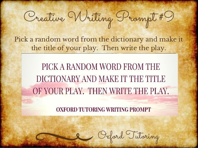 funny creative writing prompts Search by grade level: middle grades (grades 6-8) clicking on the picture will take you to the prompt    eventually however, we're still putting this thing.