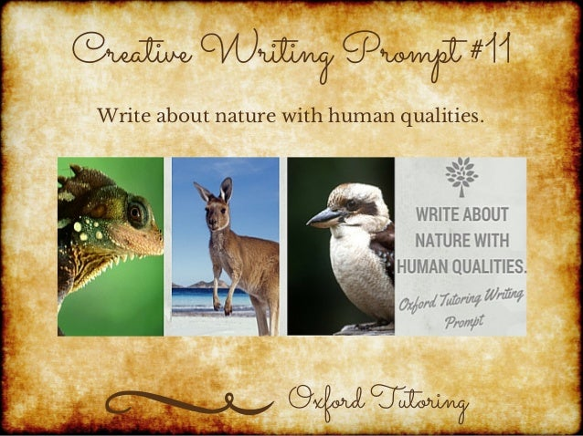 creative writings about nature