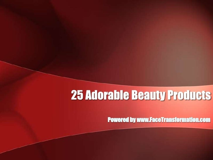 25 Adorable Beauty Products