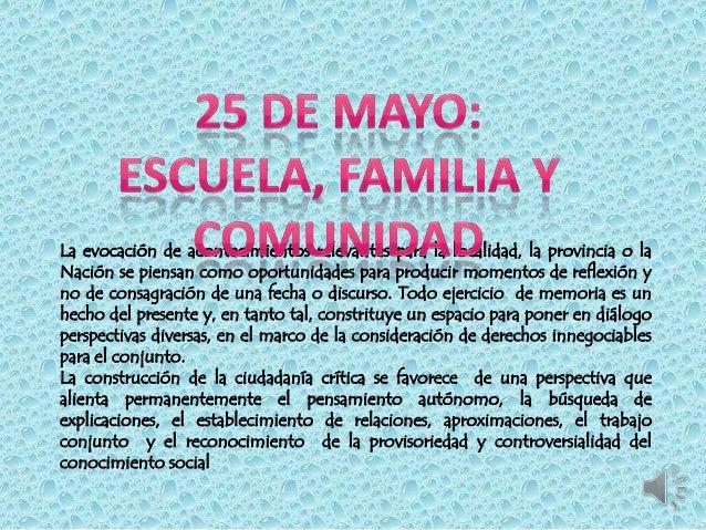 25 de mayo localidad: