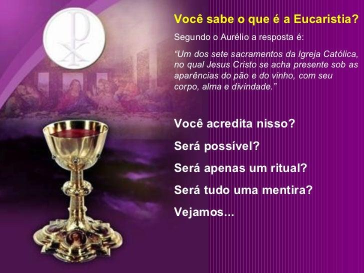 25 eucaristia