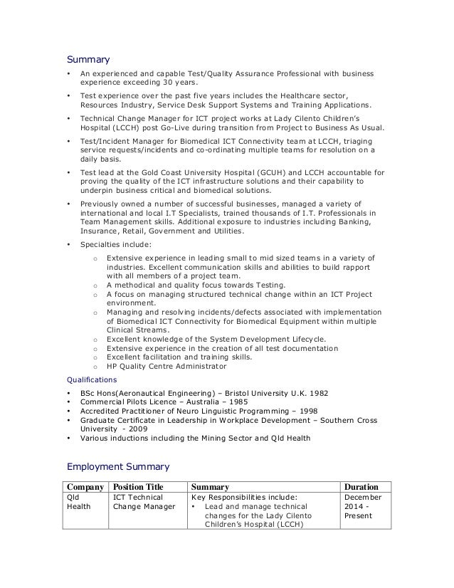 test manager resume template top 8 test manager resume