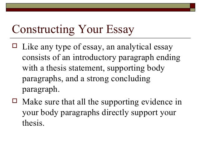 write conclusion analysis essay