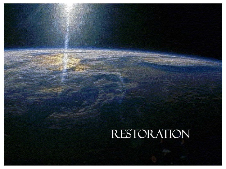 "The Restoration    2  Peter  3:3­4  ""Knowing  this  first,  that  there  shall  come  in  the  last  days    scoffers, wal..."