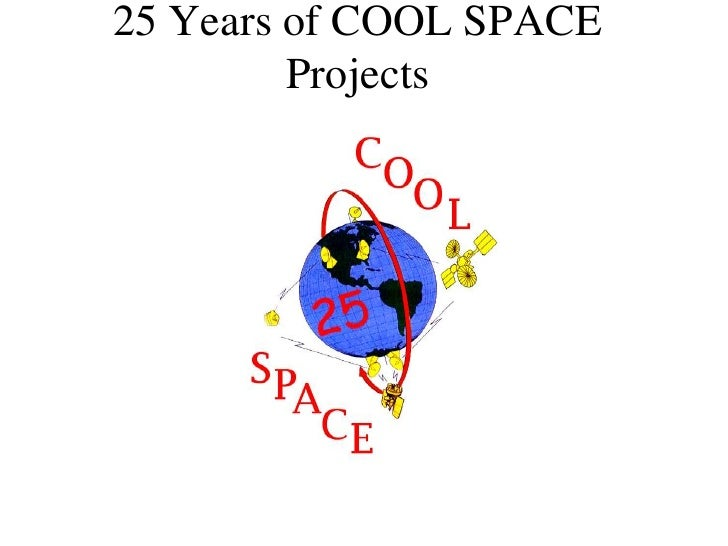 25 years of cool space projects