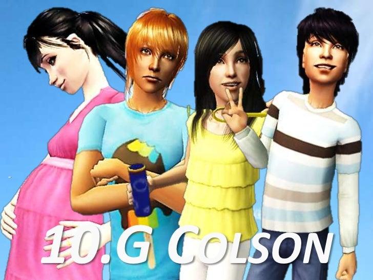 -<br />10.G Colson<br />
