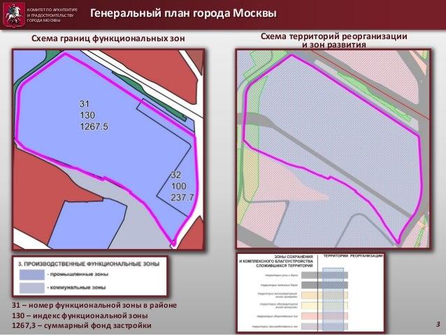 города Москвы Схема границ