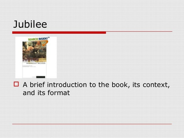 Introduction to Jubilee