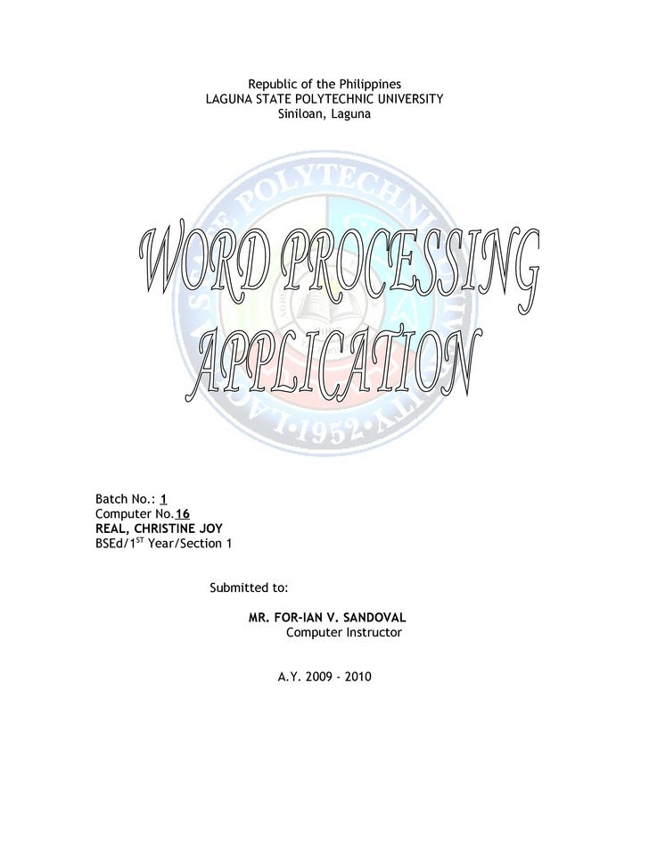 26.Real Title Word Processing