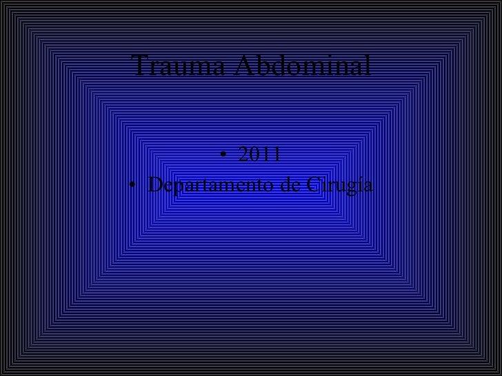 26 trauma  abdominal1