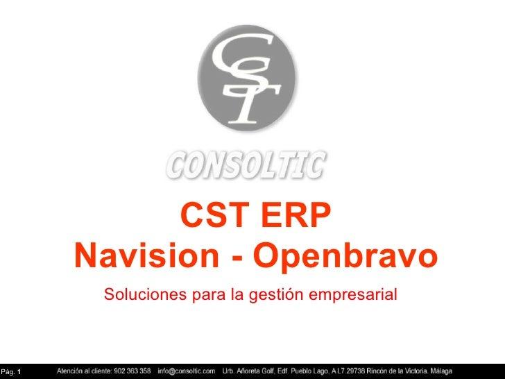 CST NAV -Openbravo