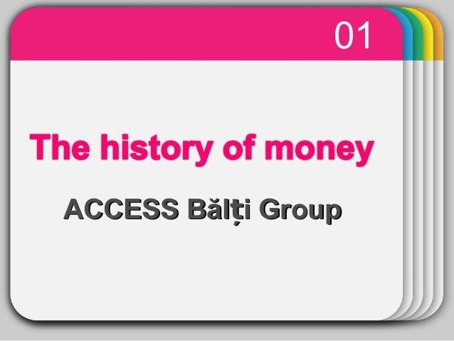 History of money balti