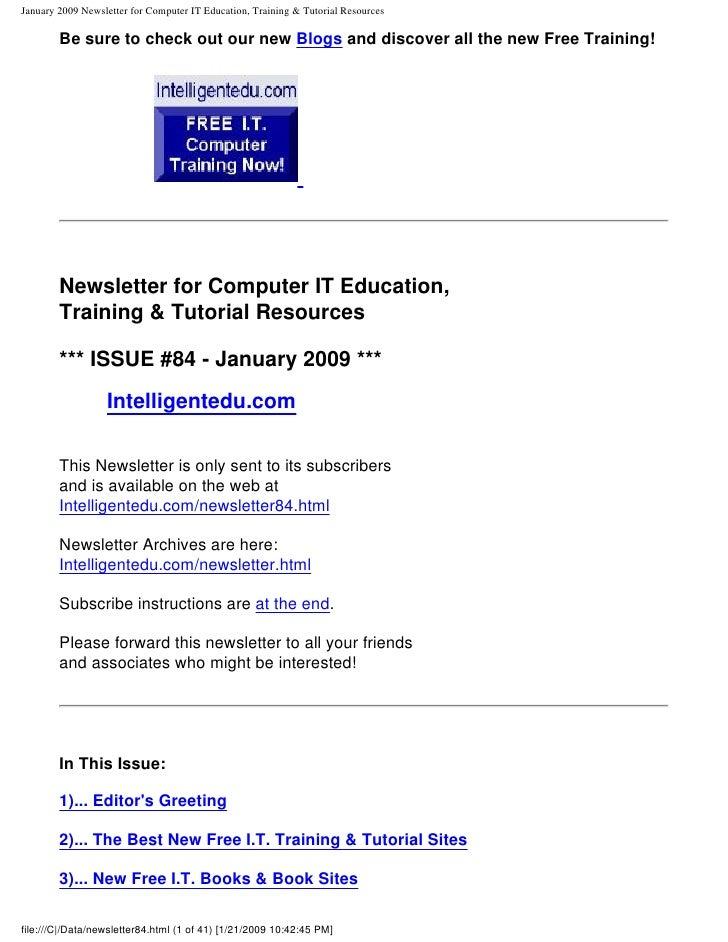 newsletter84