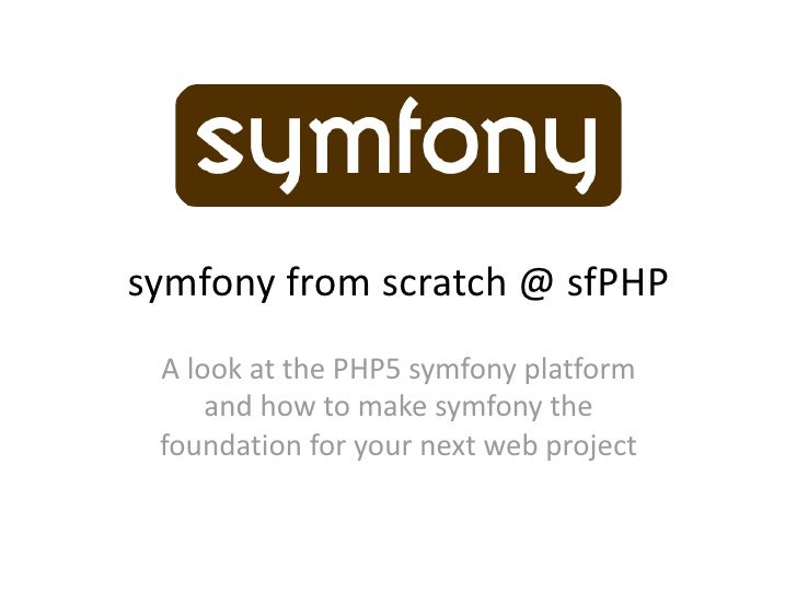 symfony