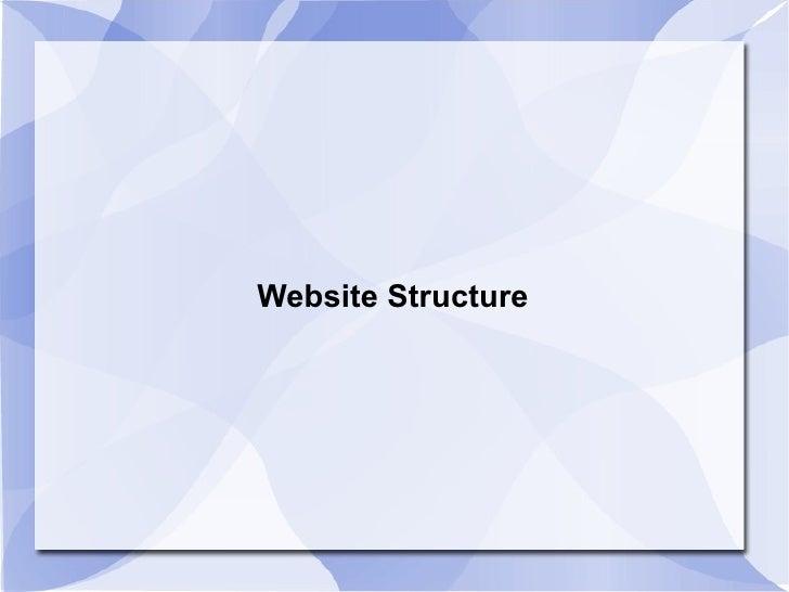 WebsiteStructure