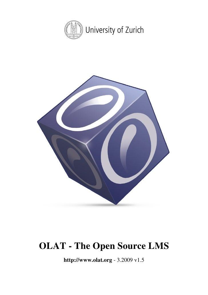 OLAT - The Open Source LMS     http://www.olat.org - 3.2009 v1.5