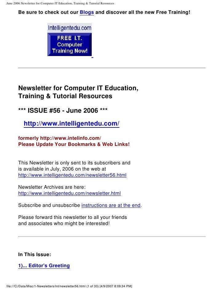 newsletter56
