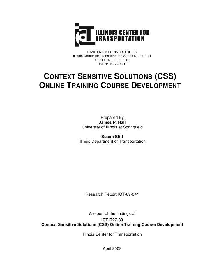 CIVIL ENGINEERING STUDIES                Illinois Center for Transportation Series No. 09-041                             ...
