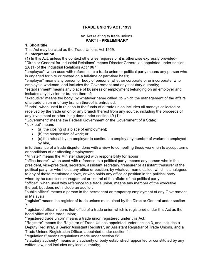26245012 malaysia-trade-unions-act