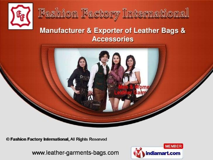Fashion Factory International Delhi india