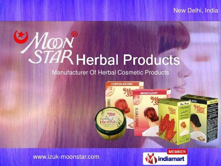 New Delhi, India     Manufacturer Of Herbal Cosmetic Productswww.izuk-moonstar.com