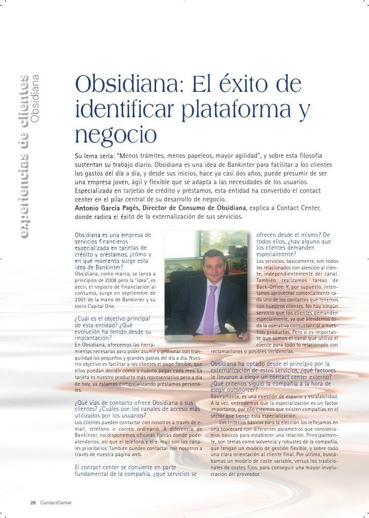 experiencias de clientes                                              Obsidiana: El éxito de                        Obsidi...