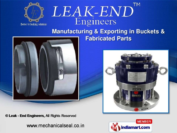 Manufacturing & Exporting in Buckets &           Fabricated Parts