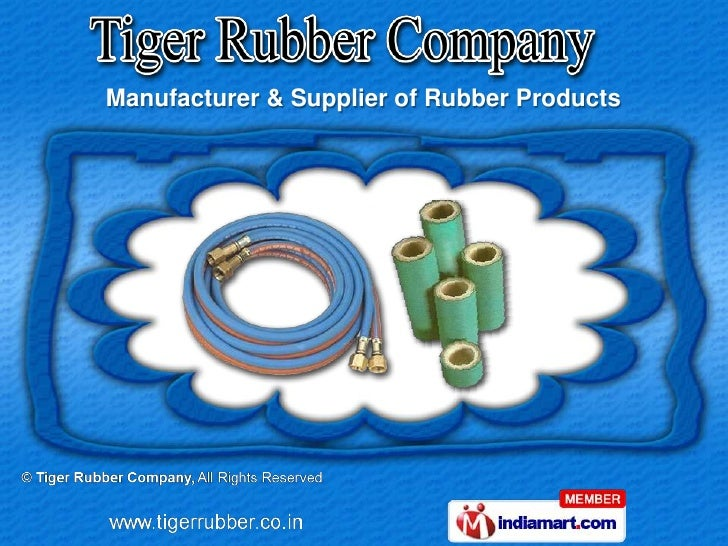 Manufacturer & Supplier of Rubber Products